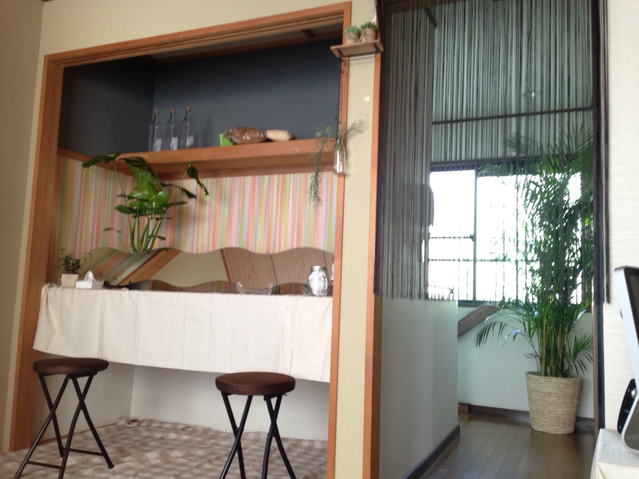 可愛くも落ち着いた 雰囲気の待合室のイメージ